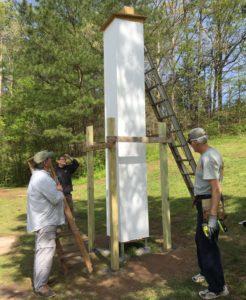 Sandy creek swift nest tower TD blog 2